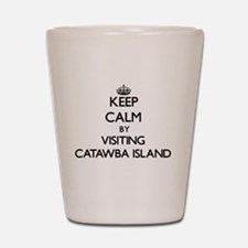 Cute Catawba island Shot Glass
