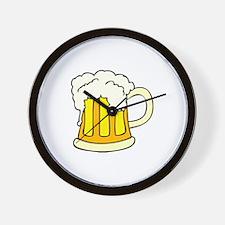Mug of Beer Wall Clock