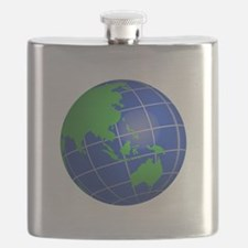 Oceana Globe Flask
