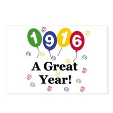 1916 A Great Year Postcards (Package of 8)