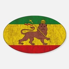 Rasta Flag Decal