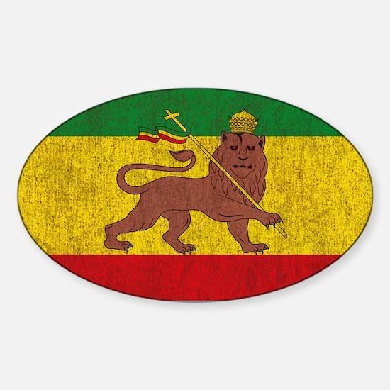 Rasta Flag Decal