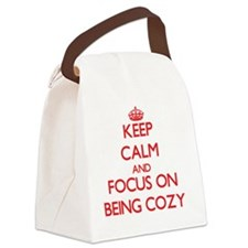 Cute Comfy Canvas Lunch Bag
