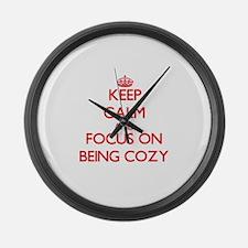 Cool Comfy Large Wall Clock
