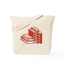 Red Books Tote Bag