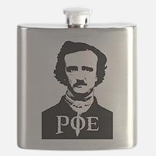 Edgar Allan Poe Flask