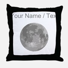 Custom Super Moon Throw Pillow