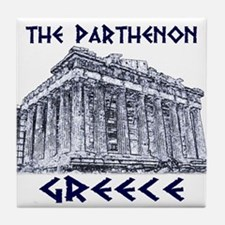 Parthenon Athens Tile Coaster