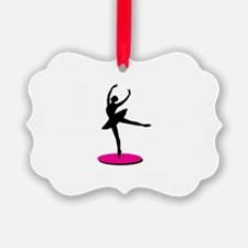 On Toe Ballerina Ornament