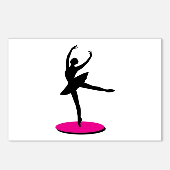 On Toe Ballerina Postcards (Package of 8)