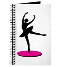 On Toe Ballerina Journal