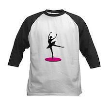 On Toe Ballerina Baseball Jersey