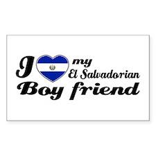 El Salvadorian Boy Friend Rectangle Decal