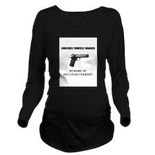 Funny Nra Long Sleeve Maternity T-Shirt