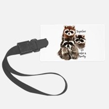 Together we make a Family Cute Raccoon Fun Quote L