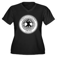treehuggers unite blk Plus Size T-Shirt