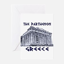 Parthenon Athens Greeting Cards (Pk of 10)