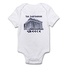 Parthenon Athens Infant Bodysuit