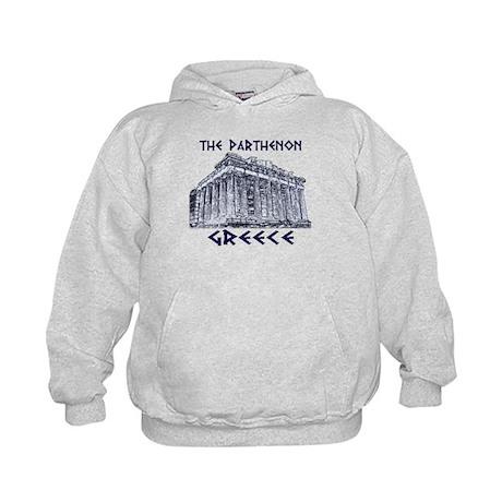 Parthenon Athens Kids Hoodie