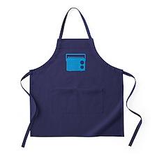 Blue Radio Apron (dark)