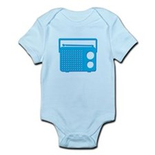 Blue Radio Body Suit