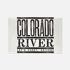 River Running Rectangle Magnet