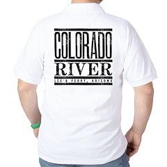 River Running Golf Shirt