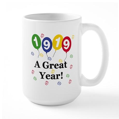 1919 A Great Year Large Mug