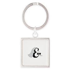 Mr & Mrs Ampersand Keychains