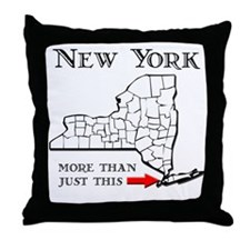 NY More Than Just This Throw Pillow