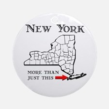 NY More Than Just This Ornament (Round)