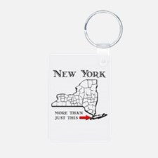 NY More Than Just This Keychains