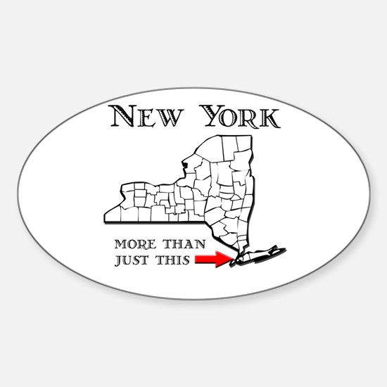 NY More Than Just This Sticker (Oval)