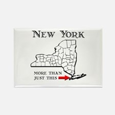 NY More Than Just This Rectangle Magnet