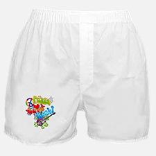 Peace Love Rock Boxer Shorts