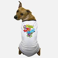 Peace Love Rock Dog T-Shirt