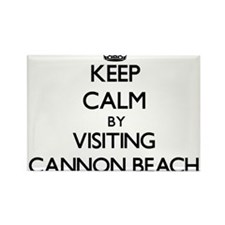 Keep calm by visiting Cannon Beach Oregon Magnets