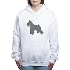 Cute Standard schnauzer Women's Hooded Sweatshirt