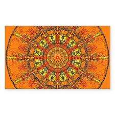 Harmony in Orange Decal