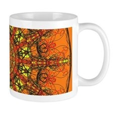 Harmony in Orange Mugs