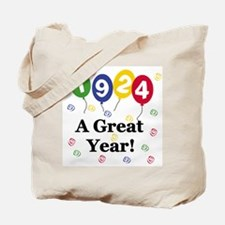 1924 A Great Year Tote Bag