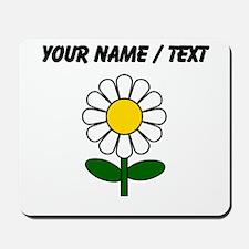 Custom Daisy Flower Mousepad