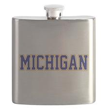 Cute Michigan state Flask