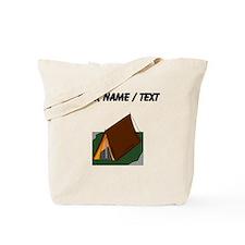 Custom Camping Tent Tote Bag