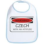 Attitude Czech Bib