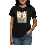 Black Jack Ketchem Women's Dark T-Shirt