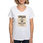 Black Jack Ketchem Women's V-Neck T-Shirt
