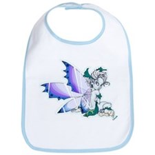 Blue Wing Fairy Bib