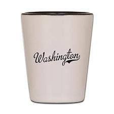 Funny Washington state cougars Shot Glass