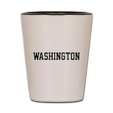 Unique Washington state cougars Shot Glass